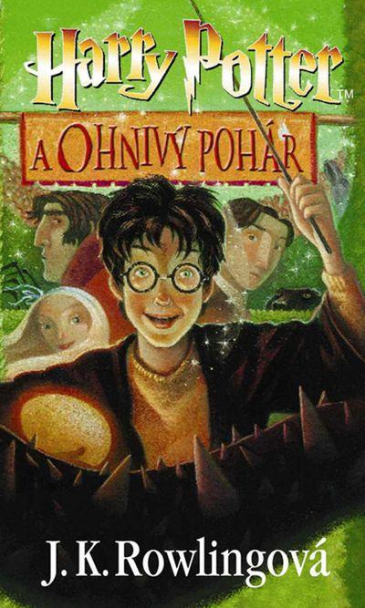 Harry Potter a Ohnivý pohár - Joanne K. Rowlingová [kniha]