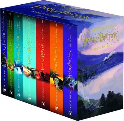 Harry Potter (Jonny Duddle) box 1-7 - Joanne K. Rowlingová [kniha]