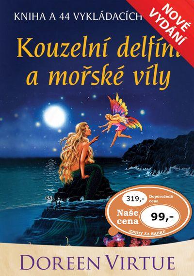 Kouzelní delfíni a mořské víly: kniha a 44 karet - Doreen Virtue [kniha]