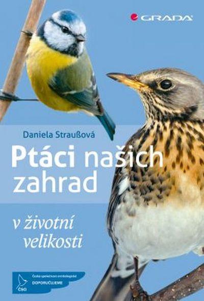 Ptáci našich zahrad: v životní velikosti - Daniela Straußová [kniha]