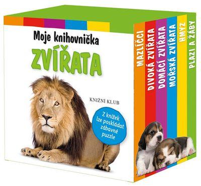 Moje knihovnička Zvířata: Mazlíčci, divoká zvířata, domácí zvířata, mořská zvířata, hmyz, plazi a žáby - Autor Neuveden [kniha]