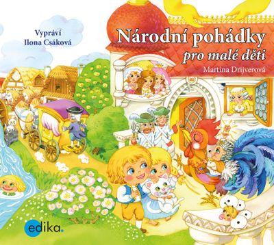 Národní pohádky pro malé děti - Martina Drijverová [audiokniha]