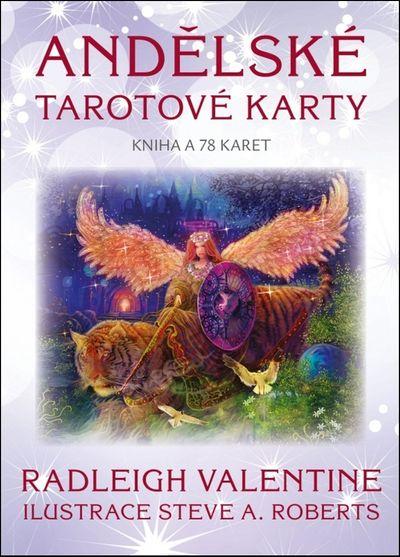 Andělské tarotové karty: Kniha a 78 karet - Radleigh Valentine [kniha]