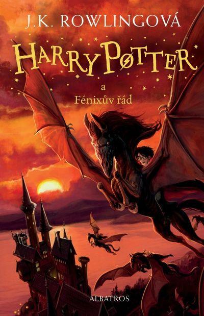 Harry Potter a Fénixův řád - Joanne K. Rowlingová [kniha]