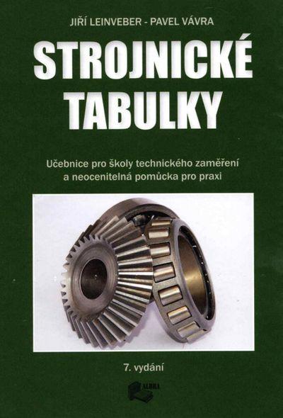 Strojnické tabulky - Jiří Leinveber, Pavel Vávra [kniha]
