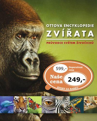 Ottova encyklopedie Zvířata: Průvodce světem živočichů - Autor Neuveden [kniha]