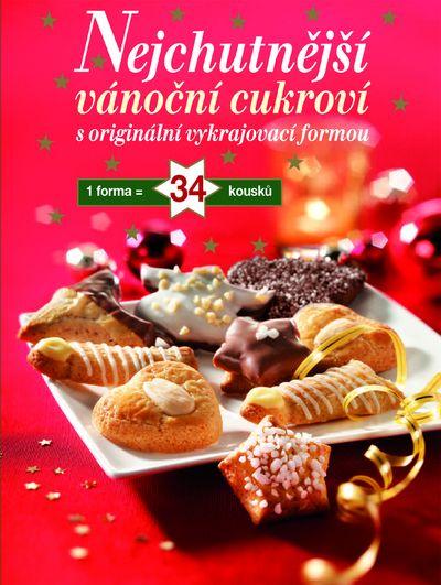 Nejchutnější vánoční cukroví: S originální vykrajovací formou - Autor Neuveden [kniha]