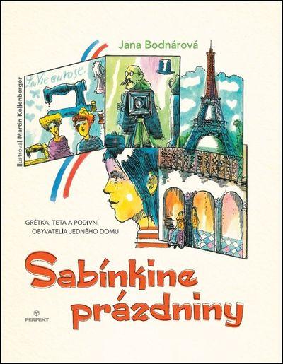 Sabínkine prázdniny - Jana Bodnárová [kniha]