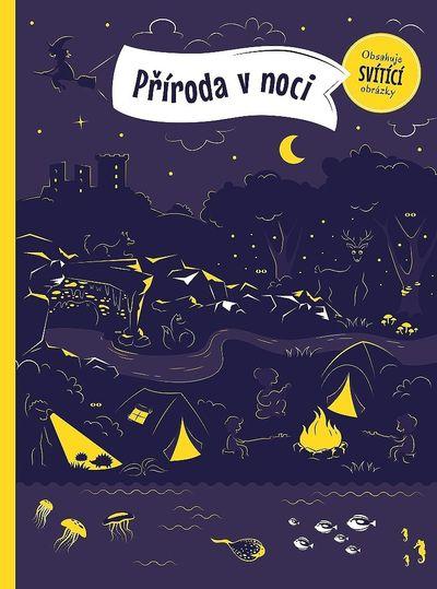 Příroda v noci: Obsahuje svítící obrázky - Petra Bartíková [kniha]