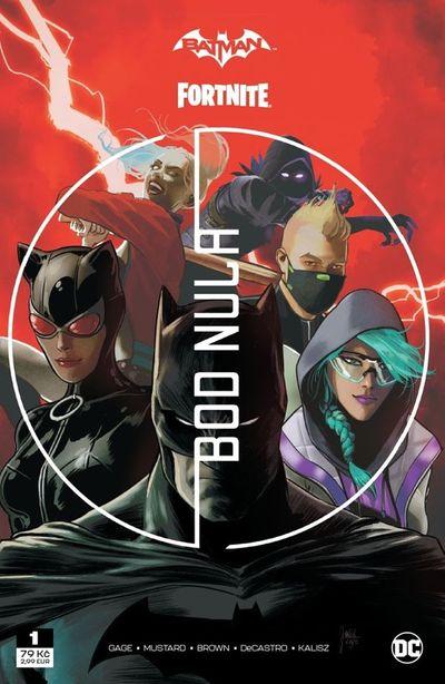 Batman/Fortnite Bod nula - Autor Neuveden [kniha]