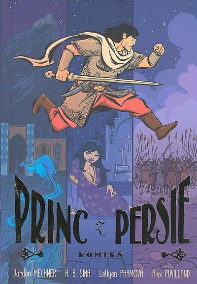 Princ z Persie - Jordan Mechner [kniha]